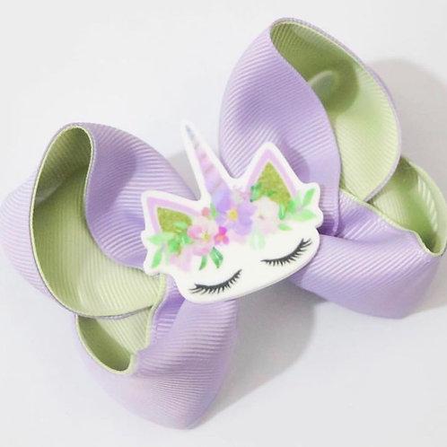 Unicorn Lilac & seafoam