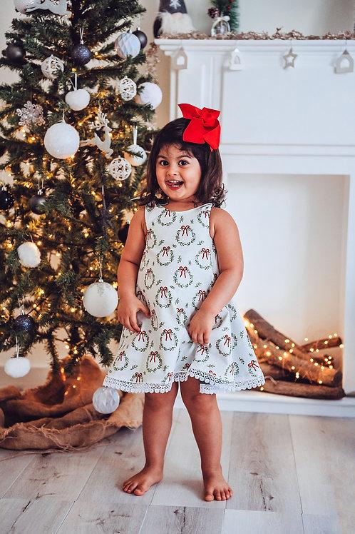 Festive swing dress