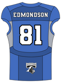 81 Craig Edmondson WR