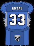 34 Tim Antas RB