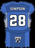 28 Josh Simpson LB