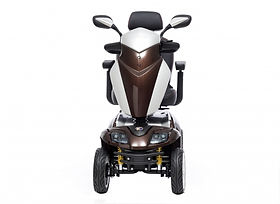 Kymco Agility Medium Mobility Scooter in Glossy Broze Front View
