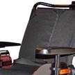 Reclining backrest powerchair