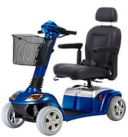 Blue colour with captain style seat