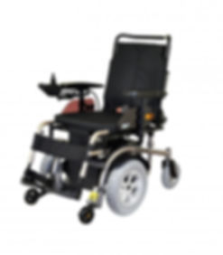 Kymco K-Movie Midwheel powerchair with adjustable Rehab seat