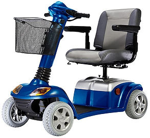 Kymco Mobilty Scooter Super 8 in Saphire Blue