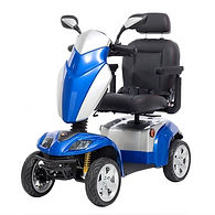 Kymco Agility Medium Mobility Scooter in Saphir Blue