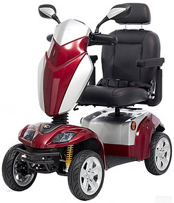 Kymco Mobility Scooter in Cherry Red