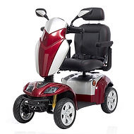 Kymco Agility Medium Mobility Scooter in Cherry Red