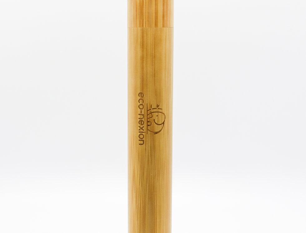 Estuche de Bambú Biodegradable para cepillo de dientes