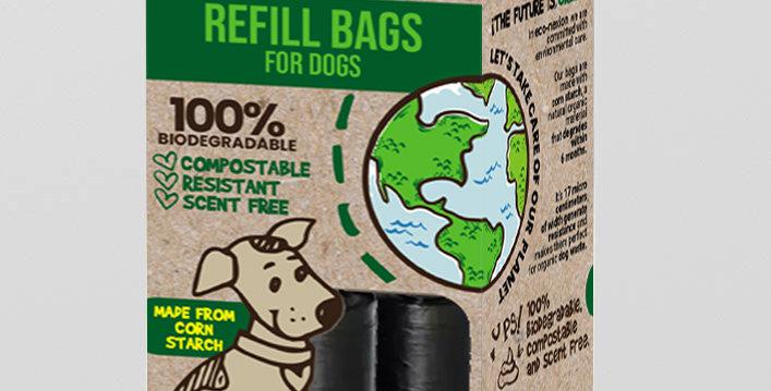 Bolsas Compostables Mascotas + Dispensador