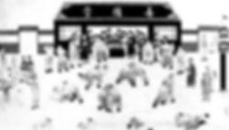 un quadro della dinastia  Yuan