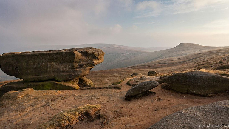 Kinder Scout | Abbie Bikes Britain | The Peak District