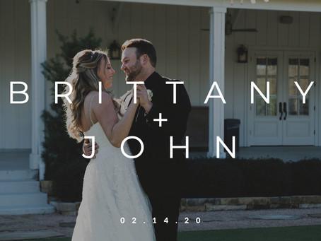 Brittany + John Hackleman