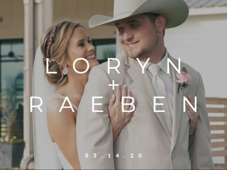 Our Last Pre-COVID Wedding: Loryn + Raeben || 03.14.20