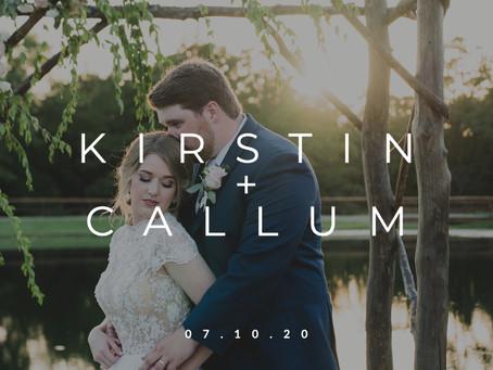 Kirstin & Callum || 07.10.20