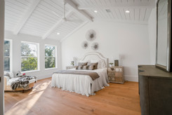 Bedroom beaming with natural light