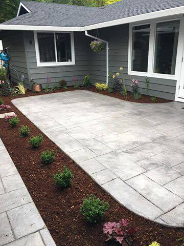 Interior Patio Plantings