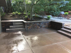 Sandy finish patio & RoxPro seating