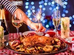 Праздничный новогодний ужин