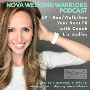 E9 - Run/Walk/Run Your Way to Your Next PR with Coach Liz Badley