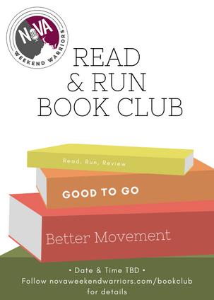 Coming Soon: NoVA Weekend Warriors Read & Run Book Club