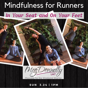 Announcing Mindfulness For Runners: In Your Seat and On Your Feet