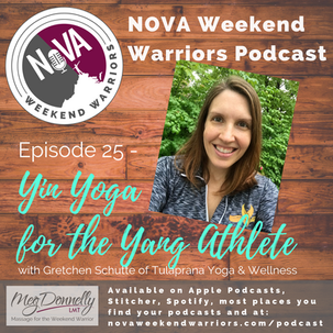 E25 - Yin Yoga for the Yang Athlete with Gretchen Schutte of Tulaprana Yoga & Wellness