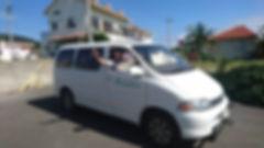 ラキクロの送迎車