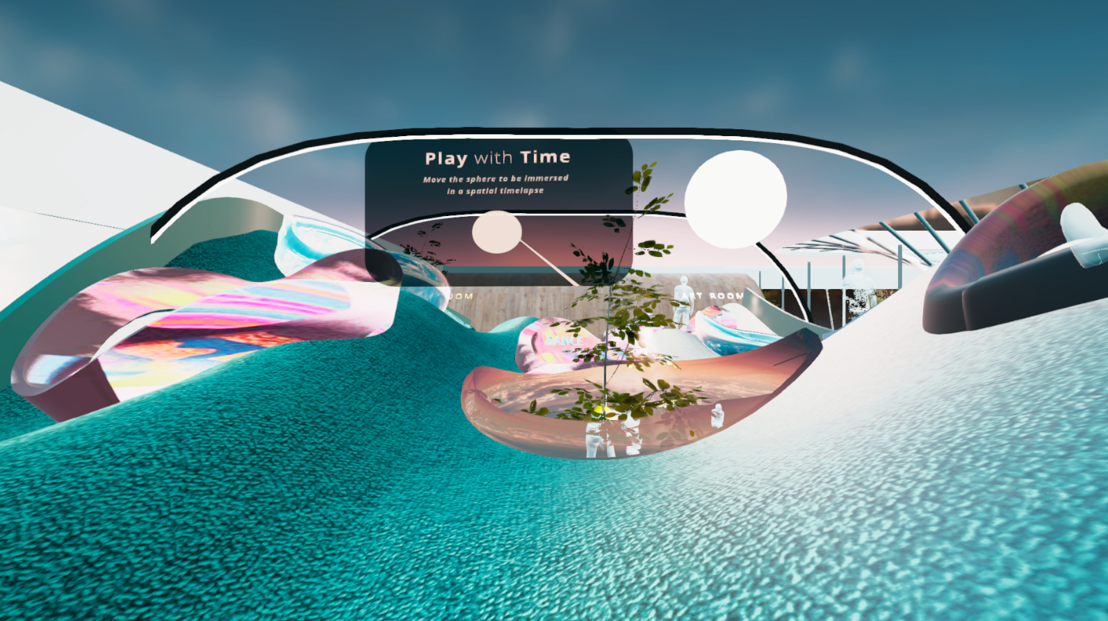 Social Network - Play with Time