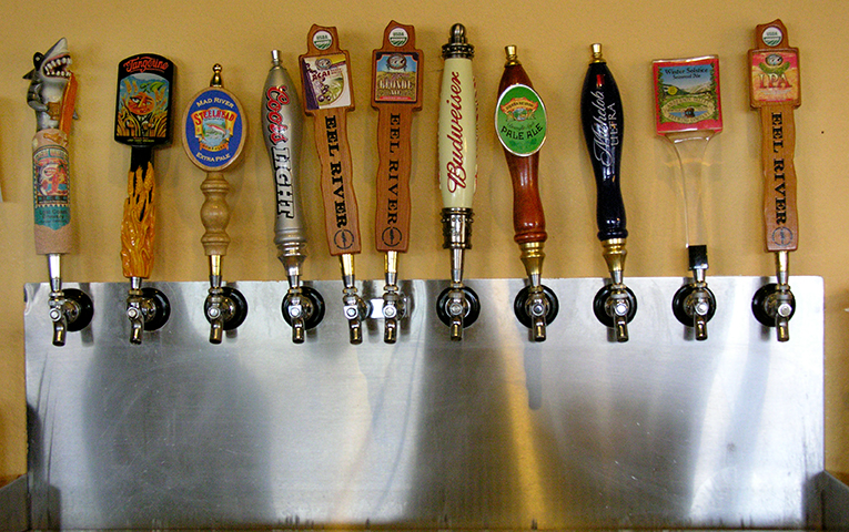 11 Beers on Tap!