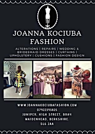 Joanna Kociuba Fashion - Dressmaker in Bray, Maidenhead