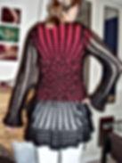 crohet knitted cardigan dressmaker maidenhead berkshire