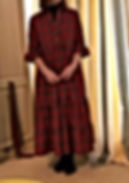 tartan dress, dressmake maidenhead berkshire, bespoke clothing