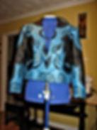 african wax print jacket, dressmaker maidenhead berkshire