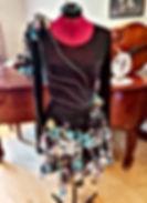 Diamond Black Dancer Dress Dressmaker Seamstress maidenhead berkshire