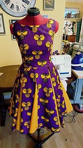 floral dress, dressmaker maidenhead berkshire