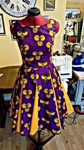 floral dress, dressmaker maidenhead berkshire