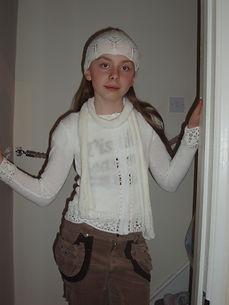 knitted outfit hat scarf jumper dressmaker berkshire