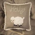 Malooshi Lamb Cushion Personalised Gift