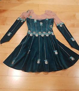ice skater dress, dressmake maidenhead berkshire