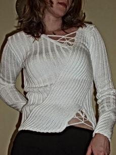 knitted crochet blouse sweater dressmaker maidenhead berkshire