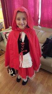 little red riding hood, world book day, dressmaker maidenhead berkshire