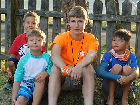 VBS 2018 Team Orange Andrew, Finn Eastin
