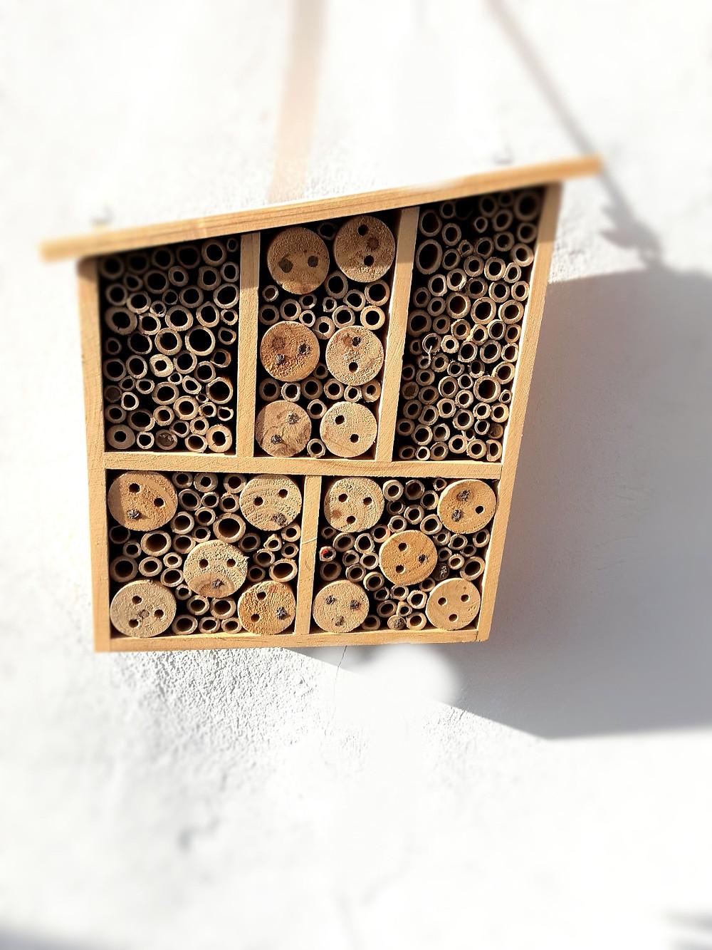 Insektenhotel, Bienen, Insekten, Haus, Nachhaltigkeit, Umweltschutz