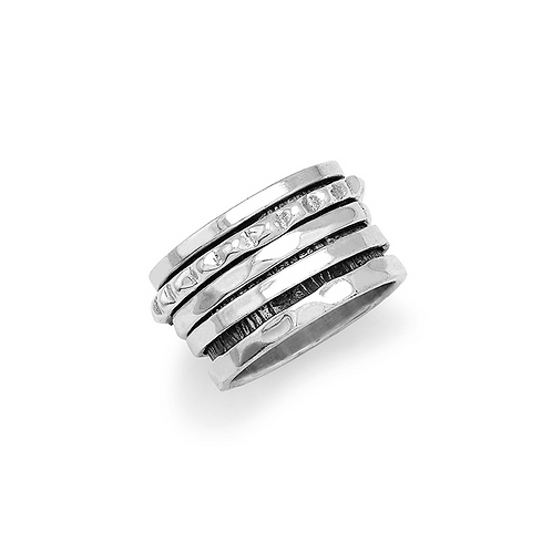 Spinning Ring in Sterling Silver