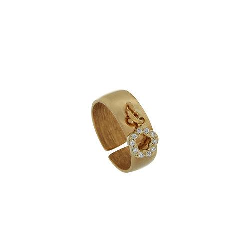Δαχτυλίδι σεβαλιέ από ασήμι 925˚