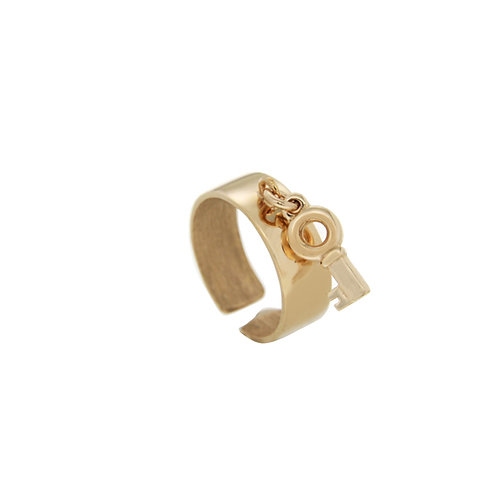 Chevalier Ring in Sterling Silver