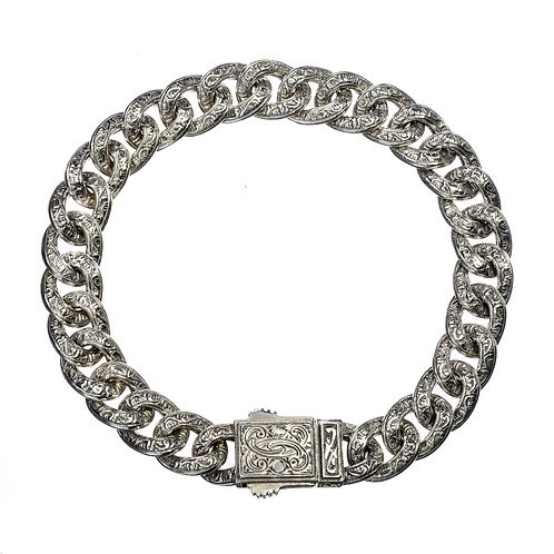 Classic Chain Bracelet in Sterling Silver