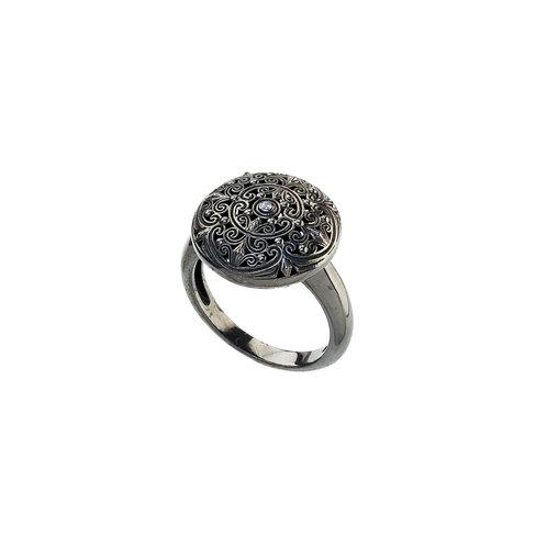 Δαχτυλίδι από ασήμι 925˚ με Zιρκόν